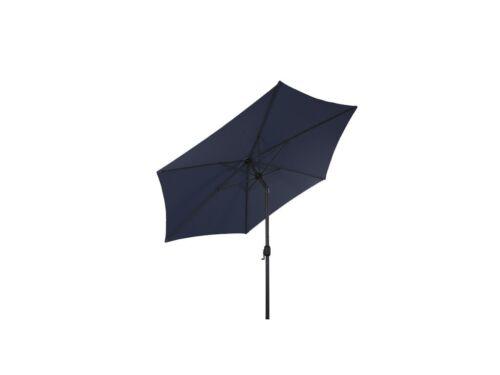 Sonnenschirm Ø 2,5m mit Knick knickbar mit Kurbel Schirm Gartenschirm 6 Farben