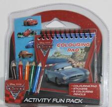 Disney Pixar Cars 2: Activity Fun Pack- Free Postage -PL-3647