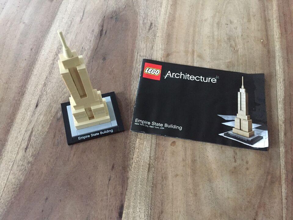 Lego Architecture, 21002 - Lego Empire State Building
