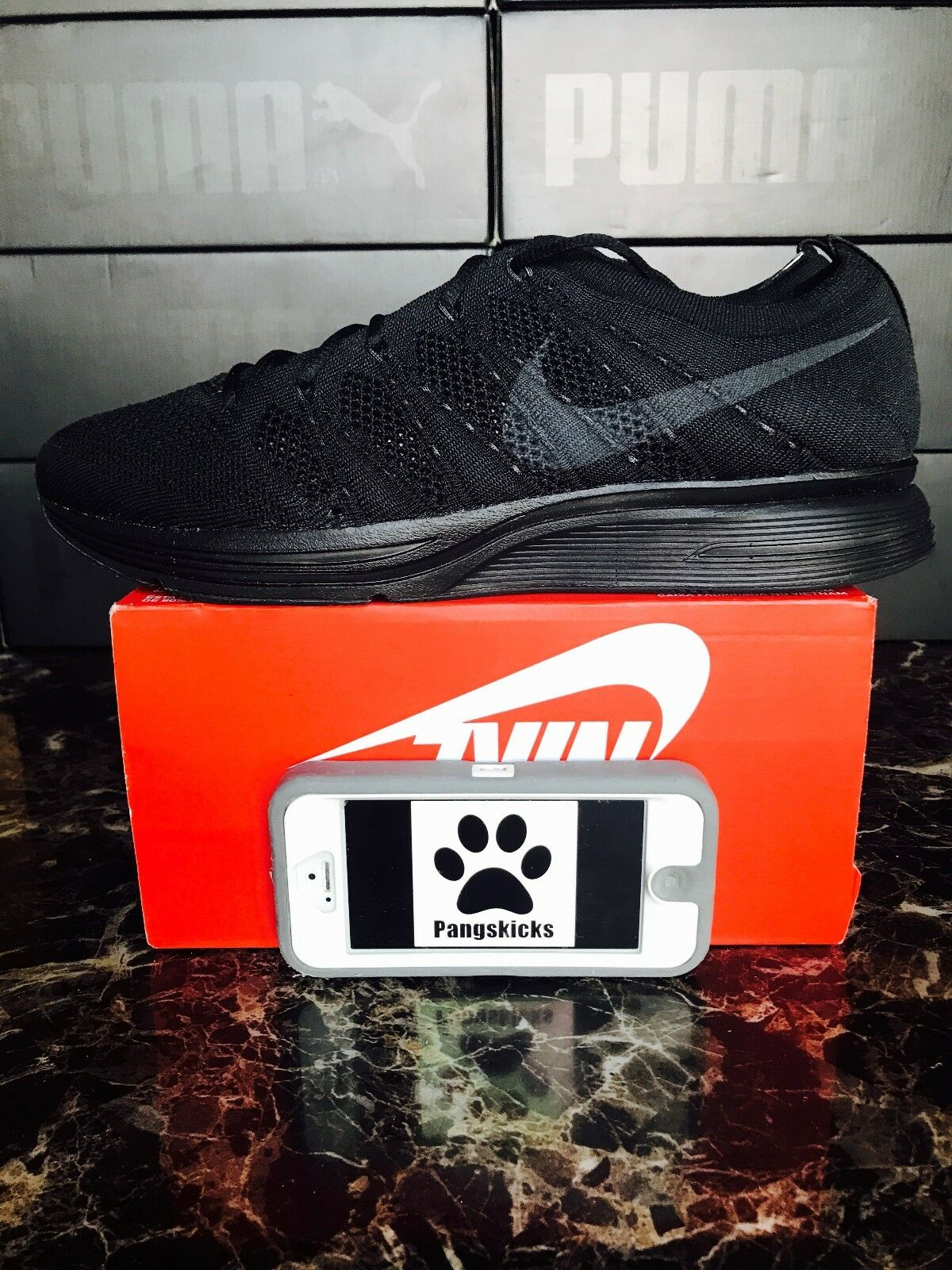 Nike Flyknit Trainer 'Black Anthracite' AH8396-004 Size 8.5-10