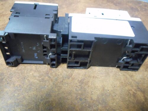 Contact Used Siemens 3RV1011-1BA10 Manual Starter//Protector  1.4-2 A 600V