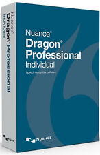Nuance Dragon Professional Individual 14 - Brand New Retail Box