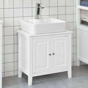 Enjoyable Details About Sobuy Under Sink Bathroom Storage Cabinet With Doors White Frg202 W Uk Download Free Architecture Designs Embacsunscenecom