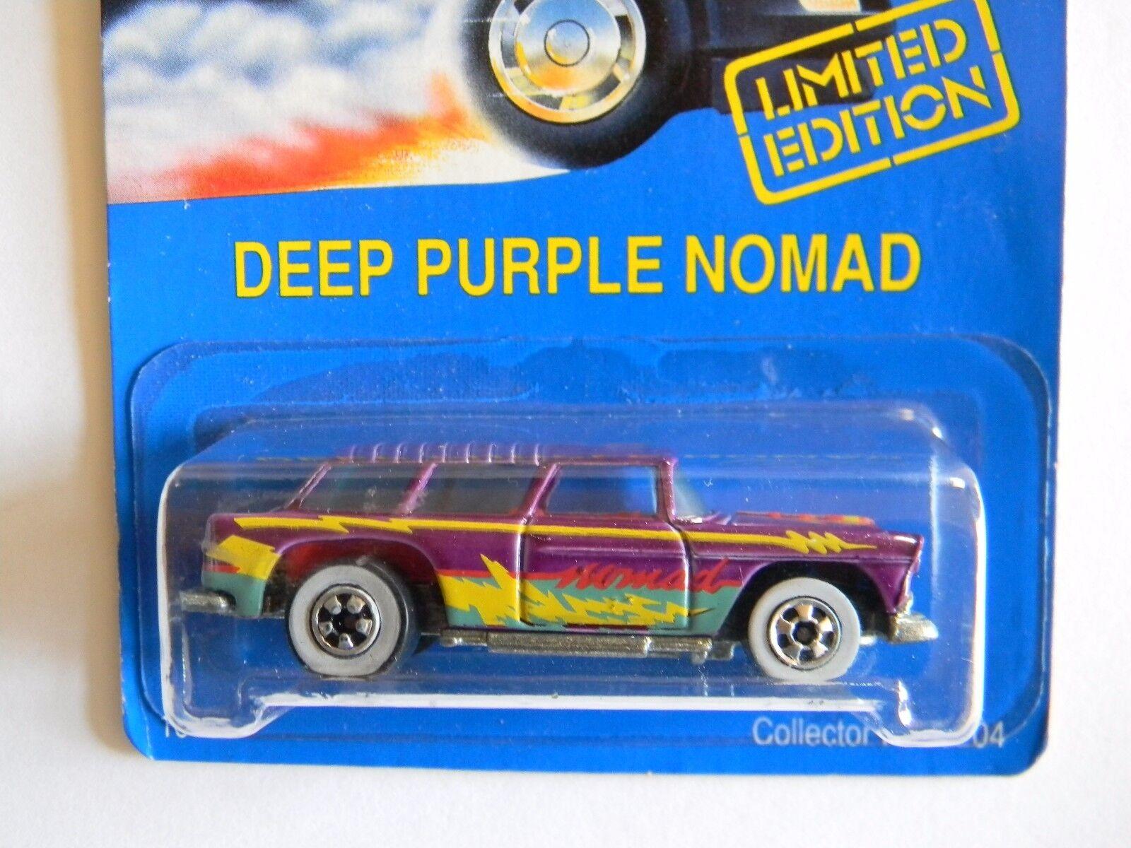 apresurado a ver Raro-Deep Raro-Deep Raro-Deep púrpura Nomad-Tarjeta Azul-hot Wheels-Original-Muy difícil de encontrar-Edición Limitada.  distribución global