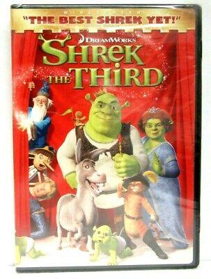 Shrek 3 The Third Dvd 2007 Widescreen New 97361179247 Ebay