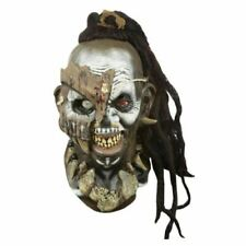 Headhunter Orc 3//4 Mask Latex Witchdoctor Adult Costume Accessory