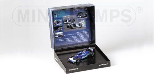 Sauber petronas c21 testcar 2002 heidfeld massa f1 formula 1 gift set 1 43 model