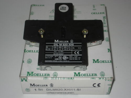 Moeller DIL M820-XHI 11-SI Auxiliary Contact DILM820
