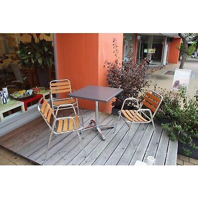 Aussenbestuhlung, Gastrotisch mit Stühlen, VEGA, Holzgarnitur  absolut neuwertig