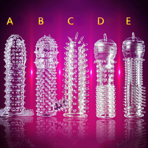 BL Special Silicone Spike Dotted Ribbed Condom Permanent Enhance Series #q Nimb