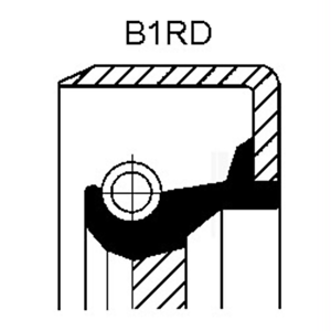 Ondas anillo obturador cajas de cambio-Corteco 12017369b
