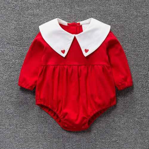 High quality Baby girls clothes birthday party wedding cotton bodysuit jumpers
