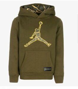 Details about Nike Air Jordan Boys' Dri Fit Hoodie Size 6 NWT