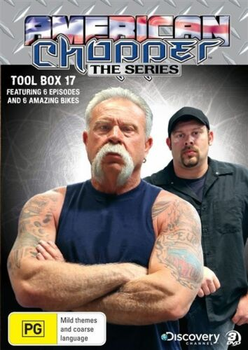 1 of 1 - B10 BRAND NEW American Chopper : The Series - Tool Box 17 (DVD,2010, 3-Disc Set)