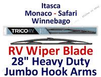 Wiper Blade Itasca, Monaco, Safari, Winnebago Rv Motorhome Wiper Hook 28 67284