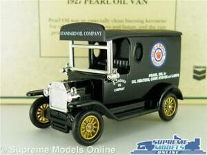 Ford Model T Truck Lorry Van Model Red Crown Gasoline 1:64 Approx Days Gone Dg6