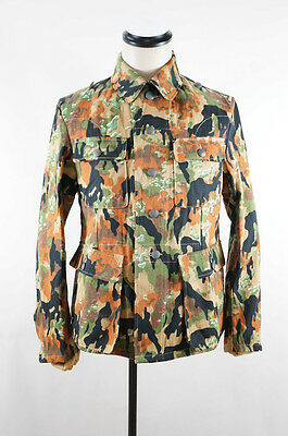 WWII German Elite leibermuster 45 camo M43 field tunic L