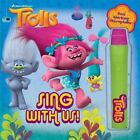 Book with Microphone: DreamWorks Trolls 1 by Dreamworks Animation Artists Staff (2016, Hardcover)