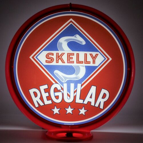 "SKELLY REGULAR 13.5/"" Gas Pump Globe"