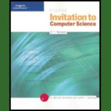 Invitation To Computer Science C Version By G Michael Schneider