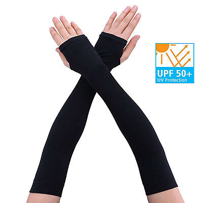 UV Protection Cooling or Warmer Arm Sleeves for Men Women Kids Sunblock lot Pais