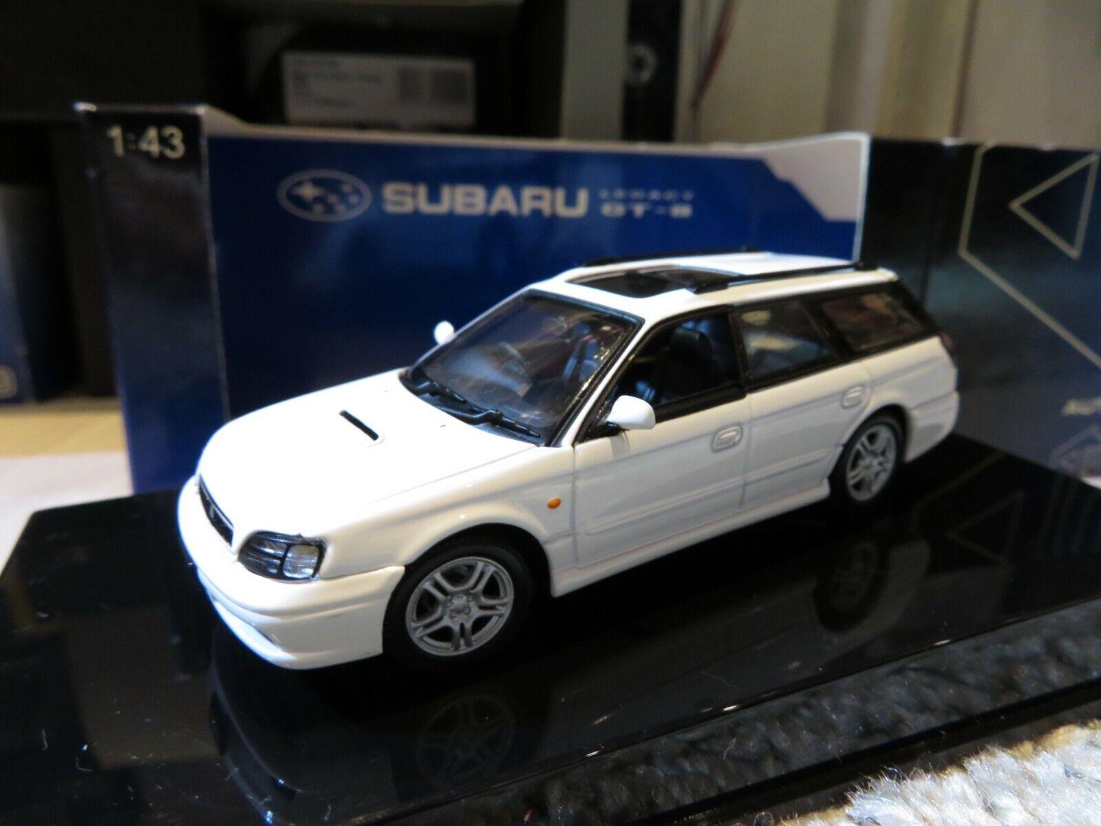 1 43 Autoart SUBARU LEGACY GTB (1999) ruedas giratorias Diecast