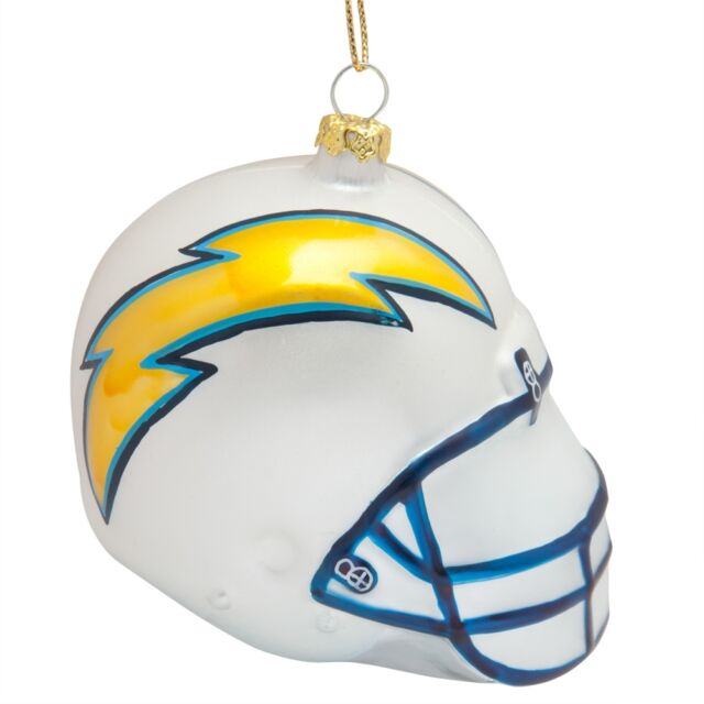 San Diego Chargers - Glass Helmet Ornament - San Diego Chargers Glass Football Helmet NFL 4.5 Christmas Ornament