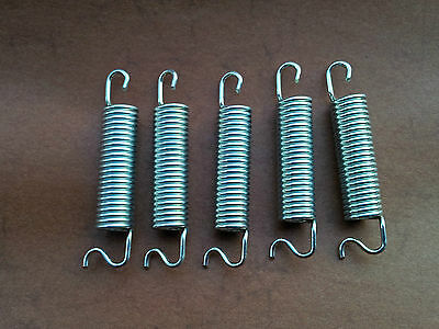 5 Zugfeder Feder Stahlfeder Aus Bestem Fef44 Stahl Spiralfeder Federn Dauerhafter Service