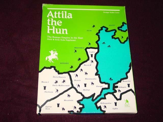 SSG - Attila the Hun - The Roman Emprie in the East (UNPUNCHED) Great Condition