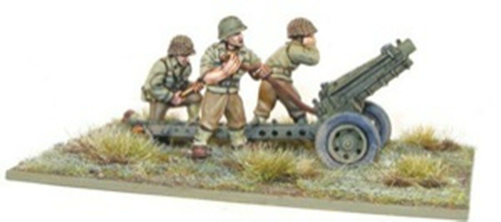 NEW BOLT ACTION MINIATURE US ARMY 75MM HOWITZER COLLECTIBLES GAMES WGB-AI-33