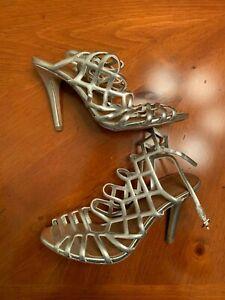 Steve Madden Madden Girl Womens Direct Leather Peep Toe