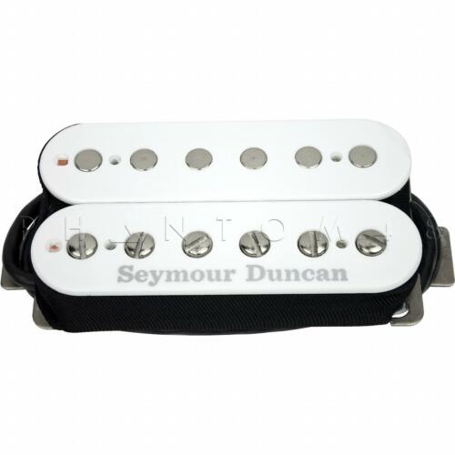 WHITE New Seymour Duncan SH-6b Distortion Hot Bridge Guitar Humbucker Pickup