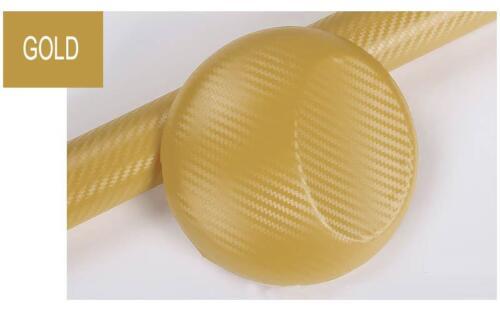 3D Carbon Fiber Vinyl Car Wrap Sheet Roll Film Sticker Decal Paper Waterproof