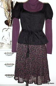 Noa S Nero Cotone Miss Camicia 36 Neu Spitalfields Bluse Schwarz Fq0Zv