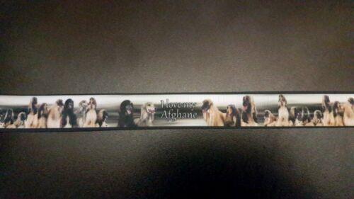 1544 I Love My Afghan 22 mm largeur eiegenproduktion ruban Galon WebBand