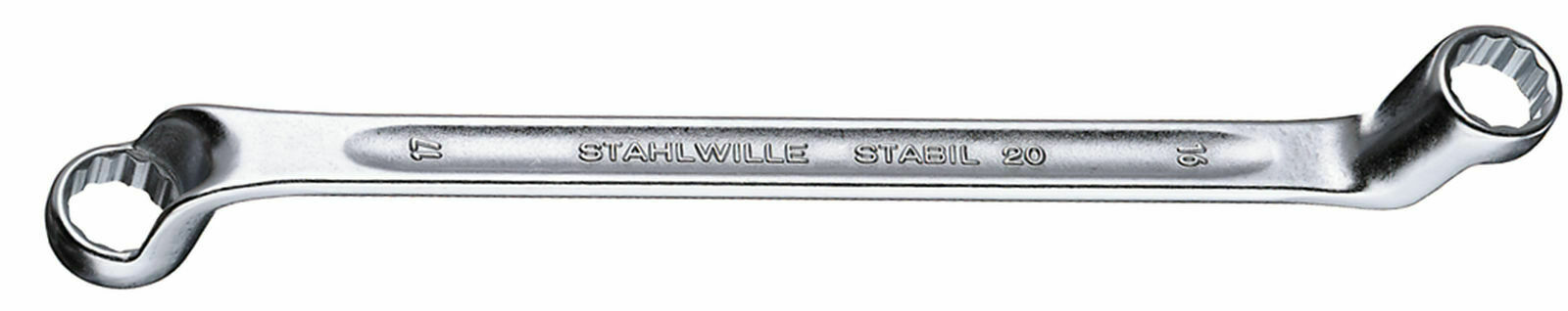Stahlwille DOUBLE ENDED RING SPANNER 41042528