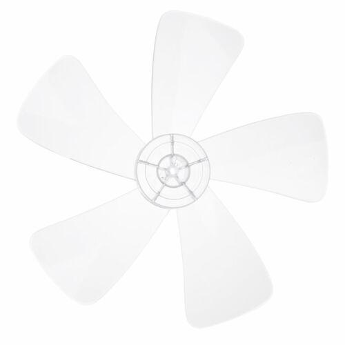 16 Zoll Lüfterflügel 5 Blätter Ersatz Kunststoff Stand Tisch Fans Lüfter Zubehör