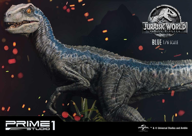 Prime 1 Studio lmcjw2 - 01 1   6 azul Jurásico Age - General Edition