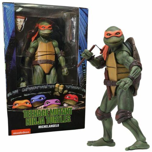 NECA TMNT Movie Michelangelo action figure Teenage Mutant Ninja Turtles