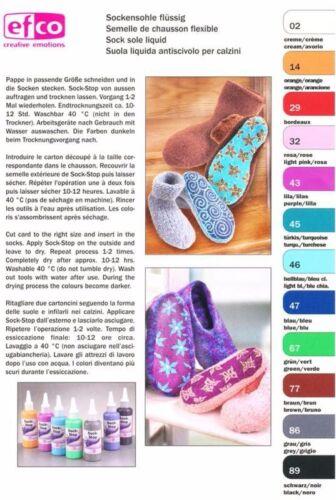 Sock Stop 2er-Set schwarz//bordeaux mehr Rutschfestigkeit für Socken #9137