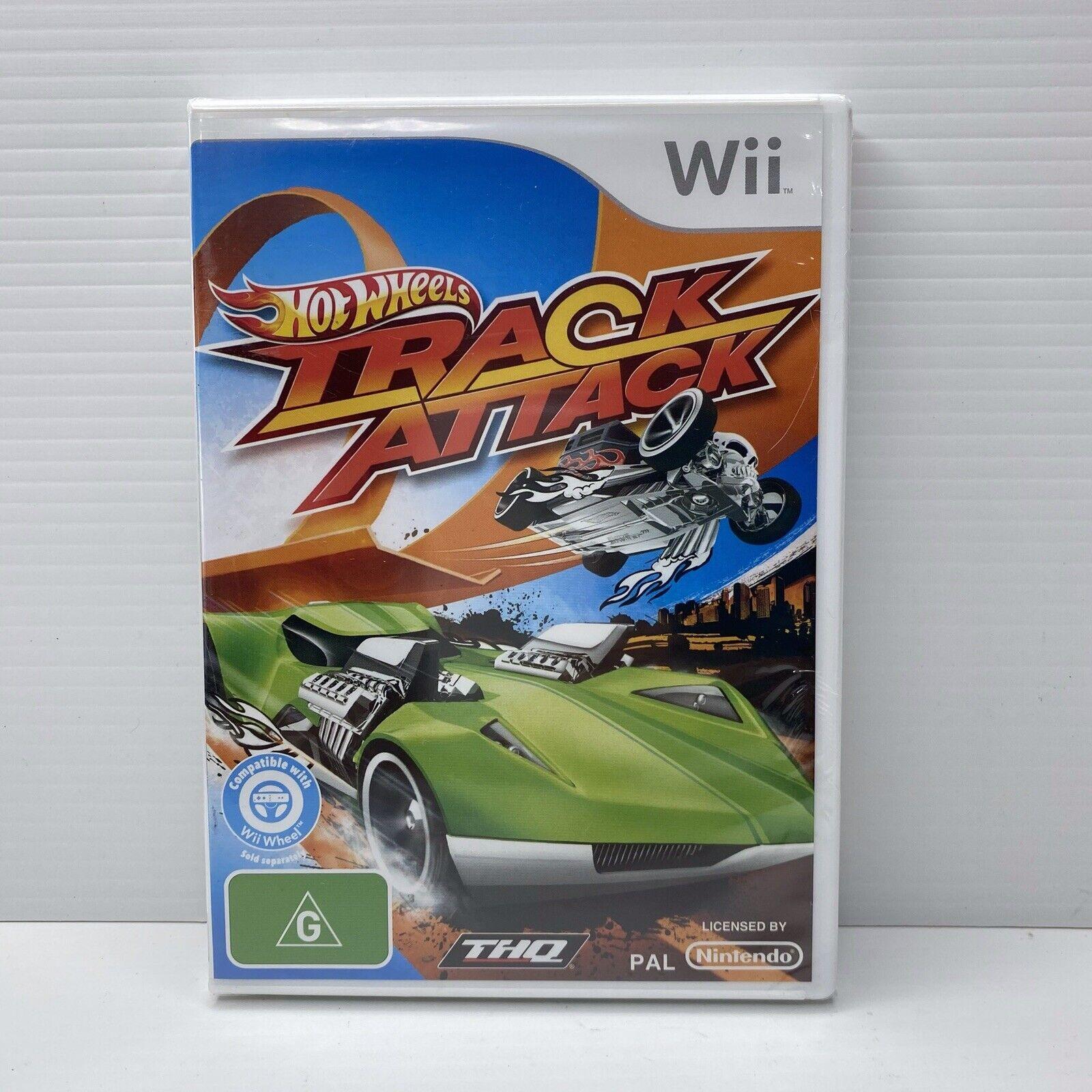 Hot Wheels Track Attack For Nintendo Wii Australian Pal Version For Sale Online Ebay