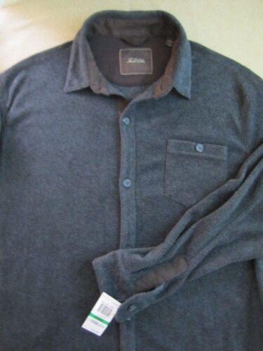 Heavy Jacket scuro Giacca New grigio Large Mens Elba Grey Tasso Nwt Heather Macys XwnIWIqHA