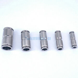 4-6-8-10-12-14-16MM-OD-304-Stainless-Steel-Push-in-Pneumatic-Straight-Connector
