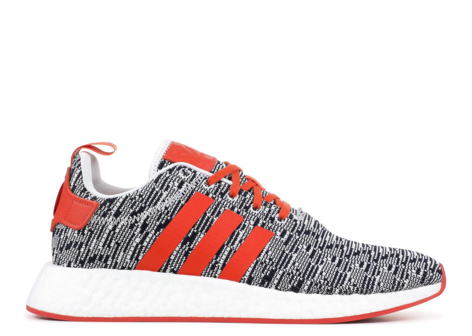 adidas originaux des hommes est est est la nmd r2 chaussure rouge / légende encre * nouveau!* a7037b