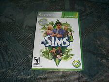 New!! The Sims 3 (Microsoft Xbox 360, 2010)