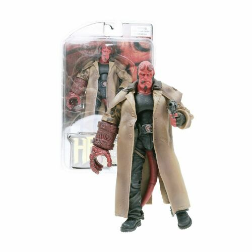 "HB Series 2 Wounded Hellboy 7/"" PVC Action Figure Collection Toy Model Gift Box"