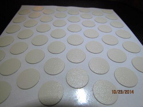 "FastCaps Almond 1 sheet 9//16/"" Self Adhesive Screw Cap Covers 52 caps"