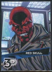 2015-Marvel-3-D-Trading-Card-18-Red-Skull