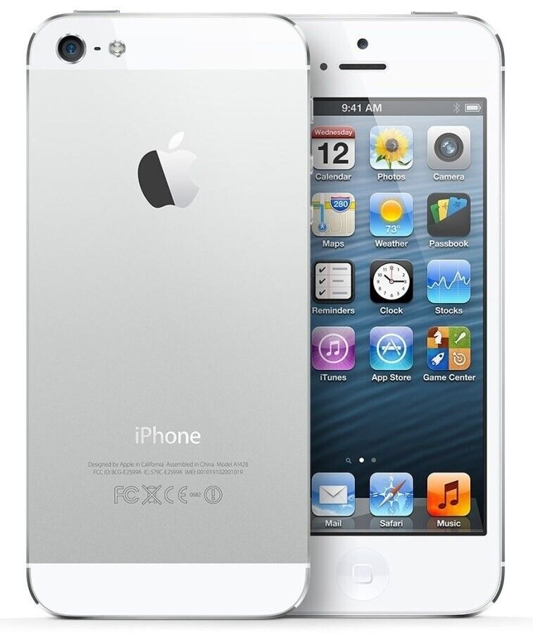 iPhone 5, GB 16, hvid