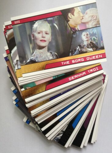 Star Trek Aliens GOLD CARDS Complete Your Set nos 51 to 100